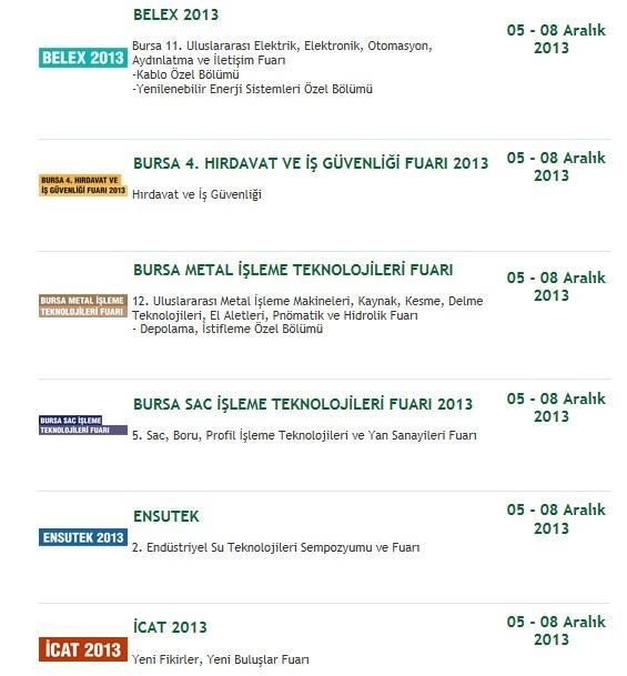 tuyap fuar3 bursa 2013
