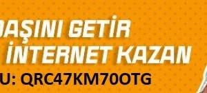 Turknet Davet Kodu QRC47KM70OTG